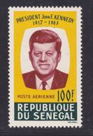 SENEGAL AERIENS N°   46 ** MNH Neuf Sans Charnière, TB (D7604) Kennedy - 1964 - Senegal (1960-...)