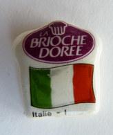 FEVE PERSONALISEE PERSO MAURIN DRAPEAUX EUROPEENS - BRIOCHE DOREE - DRAPEAU ITALIEN - ITALIE - Olds