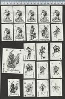 JOKER - JOKERS - 9 COMPLETE SERIES !!! Matchbox Labels - étiquettes D'allumettes - Zündholz Etiketten - Luciferetiketten - Matchbox Labels