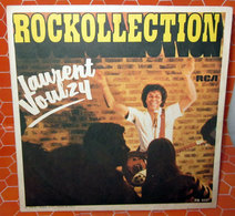 """LAURENT VOULZY ROCKOLLECTION COVER NO VINYL 45 GIRI - 7"""" - Accessori & Bustine"""