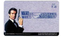 Movie Star,Movie Card,Pierce Brendan Brosnan(UK) - China