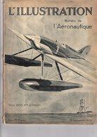 Aviation L'illustration Numéro De L'aéronautique L'aviation Du 13 Décembre 1930 Couverture De Géo Ham - Books, Magazines, Comics