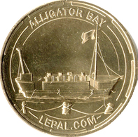03 DOMPIERRE ZOO LE PAL N°4 ALLIGATOR BAY MÉDAILLE MONNAIE DE PARIS 2014 JETON MEDALS COINS TOKEN - Monnaie De Paris