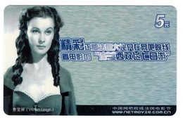 Movie Star,Movie Card,VivienLeigh(India) - China
