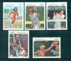Laos 1992 Summer Olympics Barcelona MUH Lot82920 - Laos