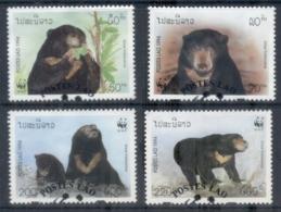 Laos 1994 WWF Sun Bear FU - Laos