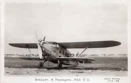 Cpa : Breguet - 8 Passagers - 450 Cv - - Avions