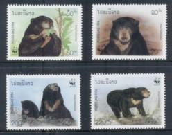 Laos 1994 WWF Sun Bear MUH - Laos