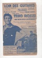 LOIN DES GUITARES TANGO CHANTE PAR TINO ROSSI DANS LE FILM AU SON DES GUITARES - MUSIQUE DE VINCENT SCOTTO - Partitions Musicales Anciennes