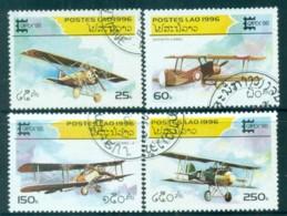 Laos 1996 Capex '96, Planes CTO Lot83087 - Laos