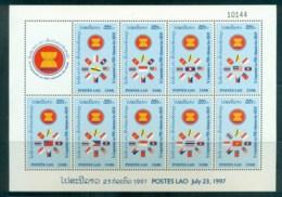 Laos 1997 ASEAN Admission MS MUH Lot82417 - Laos