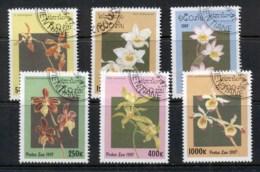 Laos 1997 Flowers, Orchids CTO - Laos