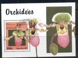 Laos 1997 Flowers, Orchids MS CTO - Laos
