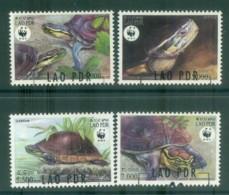 Laos 2004 WWF Malayan Box Turtle FU Lot81622 - Laos