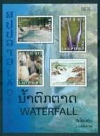 Laos 2008 Waterfalls MS MUH Lot82391 - Laos