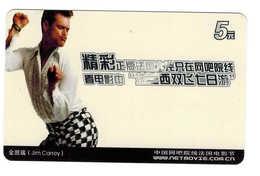 Movie Star,Movie Card,Jim Carrey(Canada) - China