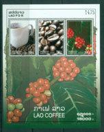 Laos 2009 Coffee MS MUH Lot24471 - Laos