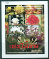 Laos 2009 Flowers MS MUH Lot24478 - Laos