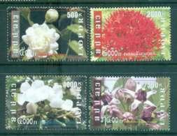 Laos 2009 Flowers MUH Lot46231 - Laos