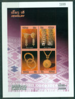 Laos 2009 Jewellery MS MUH Lot24462 - Laos