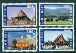 Laos 2009 Temples & Holy Places MUH Lot24476 - Laos
