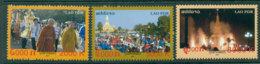 Laos 2009 That Loang Festival MUH Lot24458 - Laos