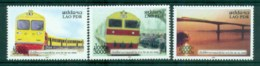 Laos 2009 Trains MUH Lot82384 - Laos