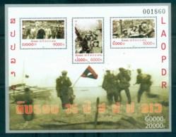 Laos 2010 Army MS MUH Lot82403 - Laos