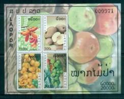 Laos 2010 Fruit MS MUH Lot82409 - Laos