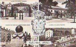 Algérie        728        Sidi-bel-Abbes.Souvenir , 4 Vues - Sidi-bel-Abbès