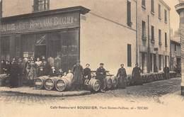.D.18-2000  : TOURS. CAFE RESTAURANT BOUGIER. PLACE GASTON PAILHOU AU N° 26 - Tours