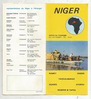 Dépliant Touristique , NIGER , 12 Pages, 2 Scans  , Frais Fr 1.65e - Dépliants Touristiques