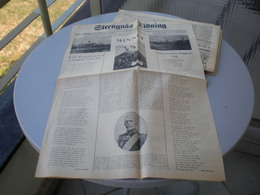 Strengnas Tidning 1923 - Libros, Revistas, Cómics