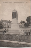 BERNAVILLE  LE MONUMENT DES MORTS DE LA GUERRE - France