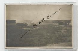 88 Vosges - Corcieux Manoeuvre Tank Le 12/08/1917 Pour Le Chemin Des Dames Carte Photo + 1cpa De Meme Provenance - Guerra 1914-18