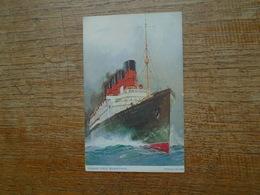 """Paquebot , Cunard R.M.S. """" Mauretania """" - Paquebots"""