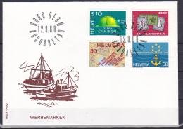 Switzerland/1968 - Publicity Issue/Werbemarken/Timbres De Propagande - Set/12.IX - FDC - FDC