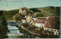 005409  Gruss Aus Krumau Am Kamp  1915 - Sonstige