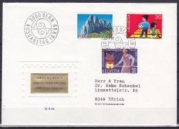 Switzerland/1969 - Publicity Issue/Werbemarken/Timbres De Propagande - Set/18.IX - FDC - FDC