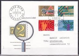 Switzerland/1972 - Publicity Issue/Werbemarken/Timbres De Propagande - Set/17.II - FDC - FDC