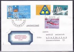 Switzerland/1972 - Publicity Issue/Werbemarken/Timbres De Propagande - Set/21.IX - FDC - FDC