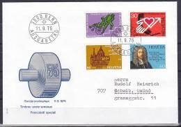 Switzerland/1975 - Publicity Issue/Werbemarken/Timbres De Propagande - Set/11.IX - FDC - FDC