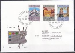 Switzerland/1975 - Europa CEPT - Set - FDC - FDC