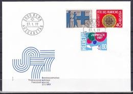 Switzerland/1977 - Publicity Issue/Werbemarken/Timbres De Propagande - Set/27.I - FDC - FDC