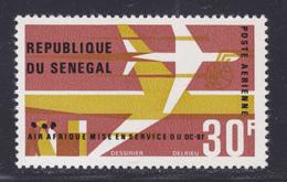 SENEGAL AERIENS N°   53 ** MNH Neuf Sans Charnière, TB (D7607) Air Afrique, Avion DC-8F - 1966 - Sénégal (1960-...)