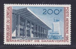 SENEGAL AERIENS N°   58 ** MNH Neuf Sans Charnière, TB (D7608) Aéroport De Dakar-Yoff - 1967 - Sénégal (1960-...)