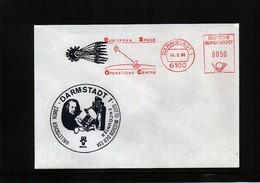 Deutschland / Germany 1986 Halley Comet Interesting Cover - Astronomy