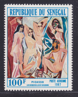 SENEGAL AERIENS N°   61 (*) Neuf Sans Gomme (D7609) Picasso - 1967 - Senegal (1960-...)
