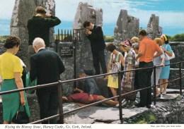 Kissing The Blarney Stone, Blarney Castle, Co. Cork, Ireland - Unused - Cork