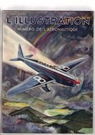 Aviation L'illustration Numéro De L'aéronautique Du 17 Novembre 1934 Couverture Géo Ham - Books, Magazines, Comics